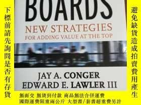 二手書博民逛書店Corporate罕見Boards: New Strategie