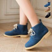Dingle丁果ღ氣質韓版麂皮革短靴*3色