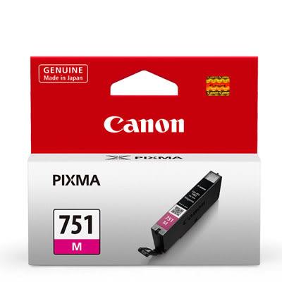 CANON CLI-751M 原廠紅色墨水匣