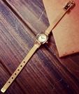 【找到自己】 精品 韓國 簡約 質感手錶 女錶 簡約細緻 石英錶 金色 土豪金 小方錶