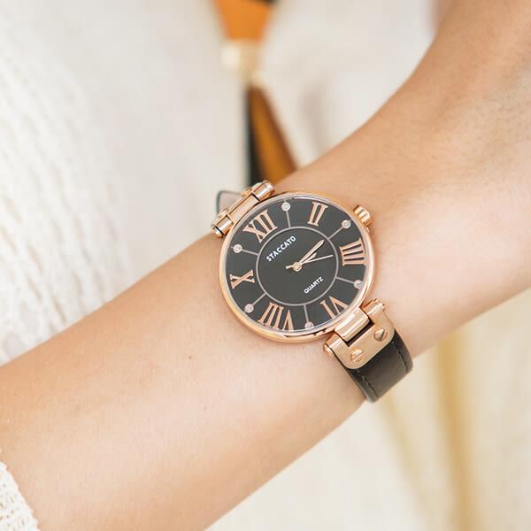 正韓羅馬珍珠紋手錶[XW051]