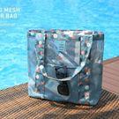 旅行透明游泳包干濕分離沙灘包女 泰國海邊...