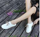 豆豆鞋-豆豆鞋女新款女鞋百搭韓版學生單鞋森女系鞋子平底小白鞋 東川崎町