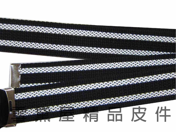 ~雪黛屋~LIAN 休閒布皮帶MIT製造防水防刮厚織布材質卡釦式造型皮帶百搭中性款兒童成人均適用 #4819