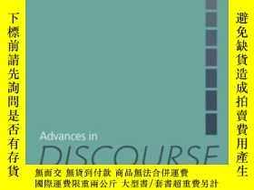 二手書博民逛書店Advances罕見In Discourse StudiesY2