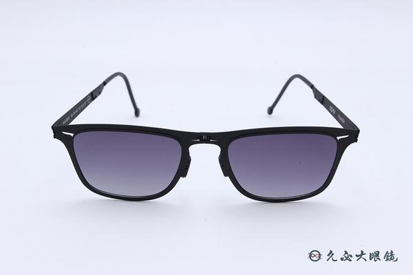 ROAV 偏光太陽眼鏡 Franklin - Mod.8001 ( 霧黑框/漸層灰 ) 薄鋼折疊墨鏡