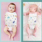 新生嬰兒包被防驚跳襁褓睡袋包巾護肚圍神器紗布夏季薄款初生寶寶 ciyo 黛雅