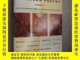 二手書博民逛書店Fifty罕見years of american poetry