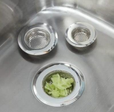 預購-不鏽鋼廚房下水道水槽過濾網 浴室水池毛髮頭髮防塞堵地漏 大號