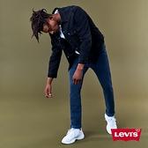 Levis 男款 古著牛仔外套 / 復古寬鬆版型 / 黑魂