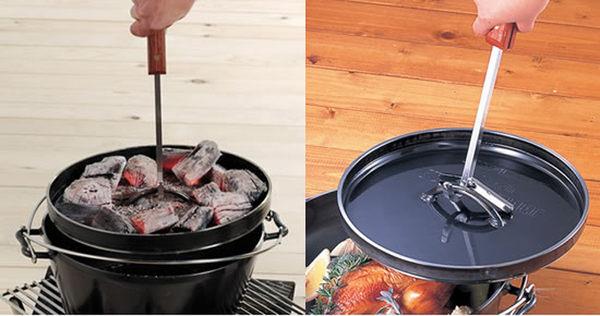 丹大戶外用品【UNIFLAME】U661239 荷蘭鍋提把 35cm/戶外燒烤/烤肉/中秋烤肉/烤肉器材