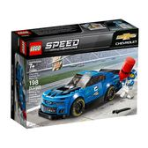 LEGO 樂高 SPEED 極速系列 75891 雪佛蘭 Chevrolet Camaro ZL1 【鯊玩具Toy Shark】