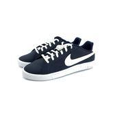 大童 NIKE COURT ROYALE  鞋帶 復古 休閒鞋 《7+1童鞋》E886 藍色