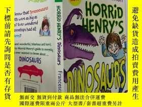 二手書博民逛書店HORRID罕見HENRY S DINOSAURS:可怕的亨利恐龍Y200392