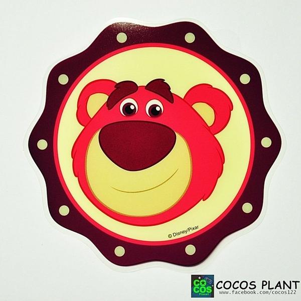 迪士尼貼紙 玩具總動員 熊抱哥 透明貼紙 壁貼 玻璃貼 防水貼紙 機車貼紙 COCOS TS030