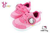 Hello kitty 運動鞋 女童 MIT 電燈鞋 慢跑鞋 G7999#桃紅◆OSOME奧森童鞋