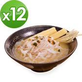 樂活e棧 低卡蒟蒻麵 鐵板細麵+濃湯(共12份)