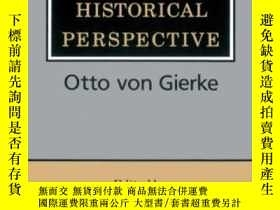 二手書博民逛書店Community罕見In Historical PerspectiveY255562 Otto Von Gi