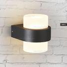 壁燈◆簡約圓筒造型(黑色)◆單燈❖歐曼尼❖