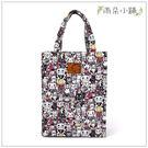 文件袋 包包 防水包 雨朵小舖M015-429 無拉鍊補習袋-粉招財貓03216 funbaobao