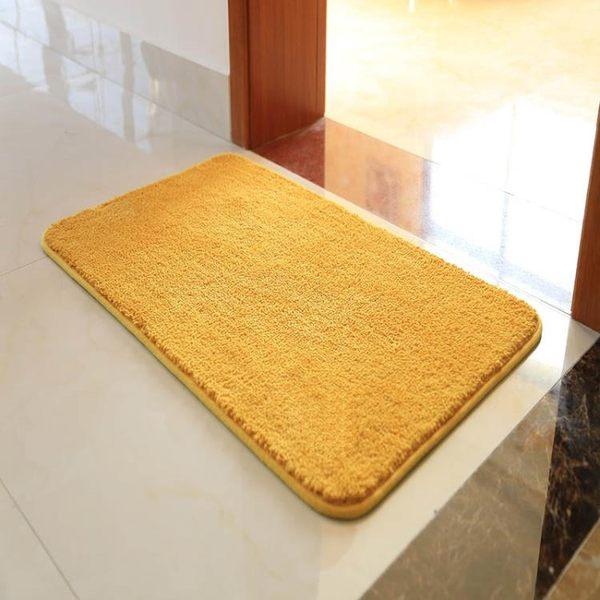 金黃色衛生間地墊入戶門腳墊門墊進門門廳衛浴吸水防滑墊臥室地毯