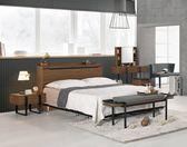 【新北大】✪ B029-2 伯恩斯5尺被櫥式雙人床(床頭+床底)-18購