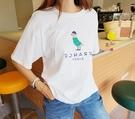 [預購+現貨]韓國-小鳥戴帽穿衣T(4色)-上衣-74102610 -pipima-53