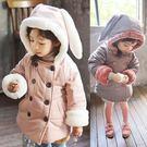 韓版《長耳兔兔款》連帽保暖外套...