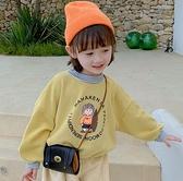 女童装 女童秋裝洋氣衛衣兒童裝寶寶2020新款加絨加厚女孩春秋款小童上衣【快速出貨八折鉅惠】