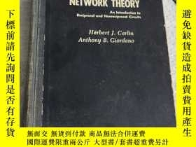 二手書博民逛書店NETWORK罕見THEORY An introduction to reciprocal and nonreci