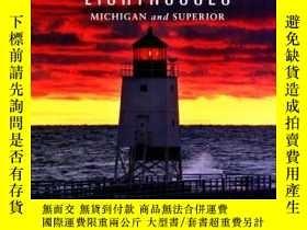 二手書博民逛書店Western罕見Great Lakes Lighthouses, 2nd: Michigan and Super