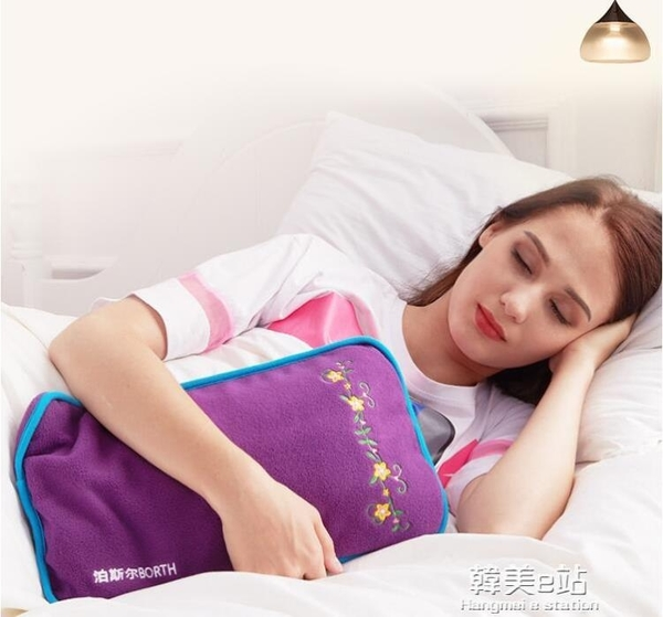 泊斯爾熱水袋灌水暖腳大號註水加厚防爆床上睡覺用被窩專用暖水袋 韓美e站