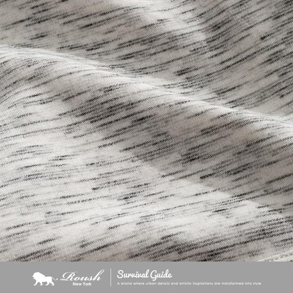 【Roush】 雲霧刷毛厚棉帽TEE -【712531】