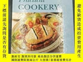 二手書博民逛書店實用烹飪罕見Practical Cookery 英文原版、精裝、