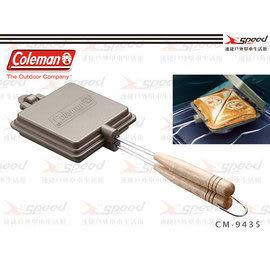 【速捷戶外露營】【美國Coleman】日式三明治烤盤(附收納袋)雙份鬆餅夾烤派夾 CM-9435