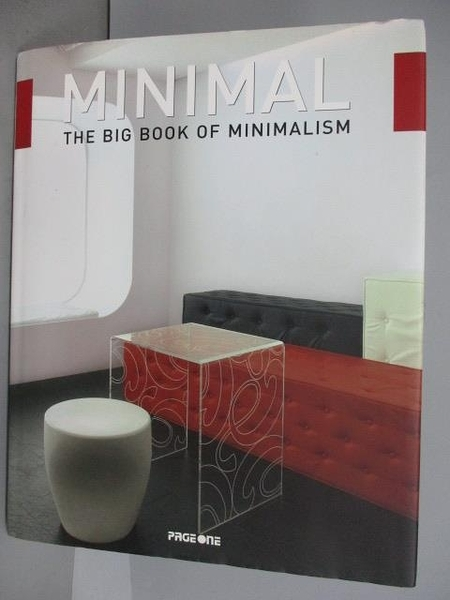 【書寶二手書T8/建築_EYE】Minimal_The Big book of Minimalism