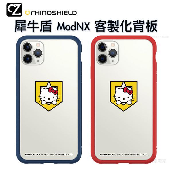 犀牛盾 Hello Kitty & Mod NX 客製化透明背板 iPhone 11 Pro ixs max ixr ix i8 i7 背板 Peek-A-Boo