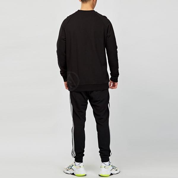 Adidas Originals 男款 黑色 logo 基本款 大學T 長袖 CW1235