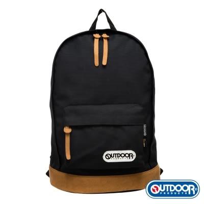 OUTDOOR - 復古學院13吋電腦後背包-黑 OD4084MKBK