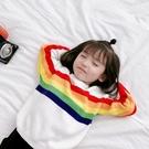 毛衣 兒童毛衣女童套頭外套針織衫好康推薦新品潮洋氣公主女孩寶寶毛線衣