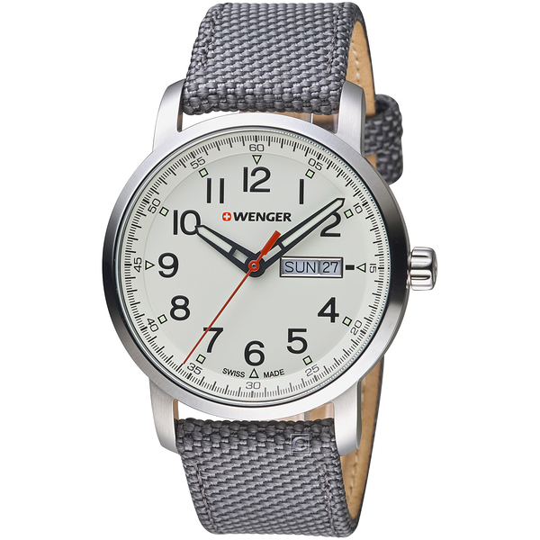 瑞士WENGER Attitude 態度系列簡單生活時尚腕錶   01.1541.106