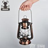 露營燈 復古戶外照明18650電池充電手提LED應急野營帳篷裝飾煤油馬燈 童趣屋