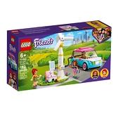 樂高積木 LEGO《 LT41443 》Friends 姊妹淘系列 - 奧麗薇亞的電動車 / JOYBUS玩具百貨