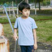 男童短袖t恤學生兒童上衣圓領半袖中大童夏裝12-15歲體恤『CR水晶鞋坊』