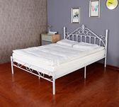歐式鐵藝床1.5米環保鐵架床公主床1.2米單人床1.8米鐵藝雙人床