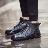 雨鞋 雨鞋男低筒防滑水鞋輕便平底膠鞋雨靴鞋韓國短筒成人釣魚鞋男 俏腳丫