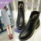 大尺碼女鞋-凱莉密碼-歐美大牌時尚經典款...