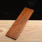 鎮尺 含銅量純銅鎮尺純紫銅紙壓鎮紙手感沉料足打磨細膩色澤柔潤 3C公社