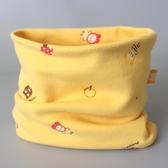 寶寶圍脖純棉兒童圍巾秋冬兒童脖套男女小孩韓版套頭防風保暖面罩
