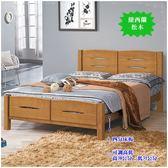 【水晶晶家具/傢俱首選】HT9576-6 愛其華5尺紐西蘭松實木雙人床(不含床墊)